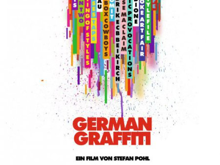 "Plakat zu ""Hello my name is - German Graffiti""."