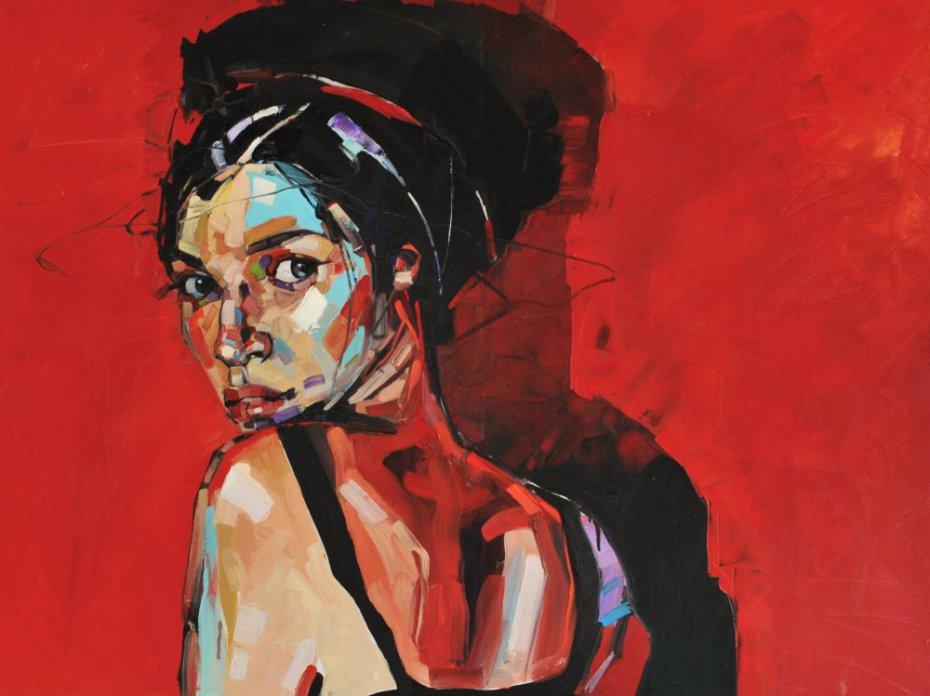 """Red Wall"" von Anna Bocek."